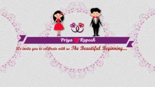 Engagement video invitation for whatsapp animated ring ceremony engagement video invitation whatsapp compatible stopboris Gallery