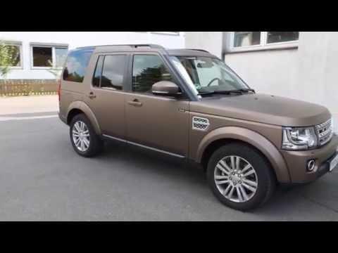 Land Rover Discovery Folierung: braun matt foliert - Wrap-a-Car