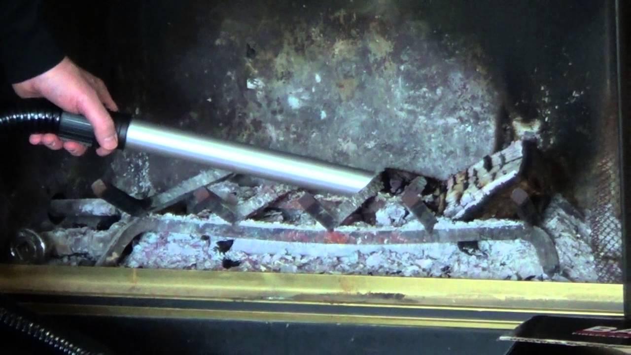 fireplace ash vacuum youtube