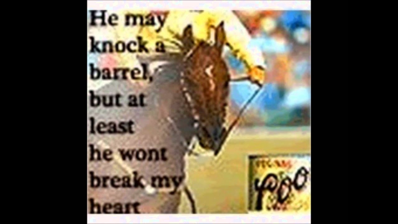 Barrel Racing Quotes Entrancing Favorite Barrel Racing Quotes  Youtube