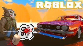 I Went On ANOTHER DEADLY ROBLOX ROUTE 66 Road Trip (Roblox Camping)