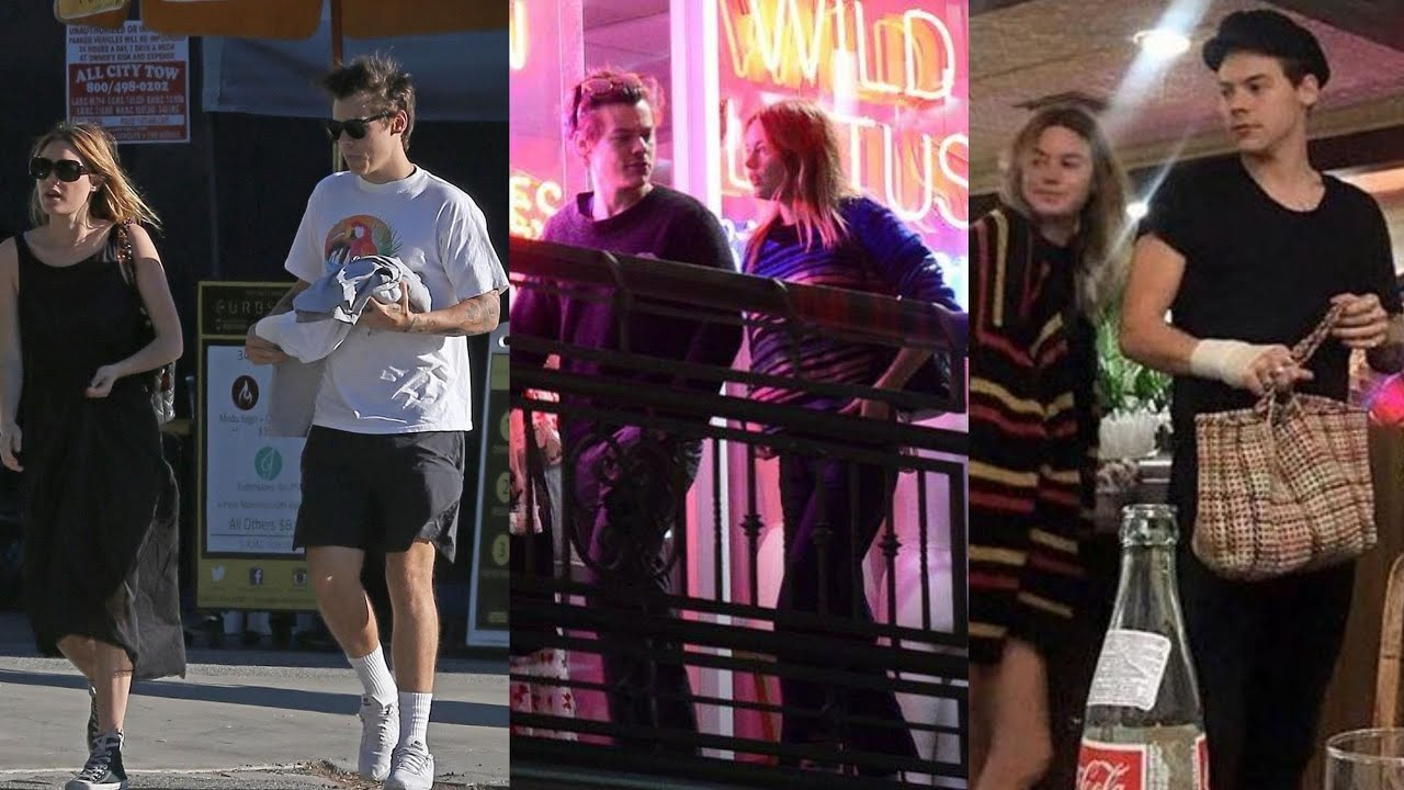 Harry Styles and Camille Rowe / 2017 - 2018