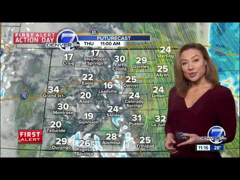 Breezy and cold over eastern Colorado Thursday