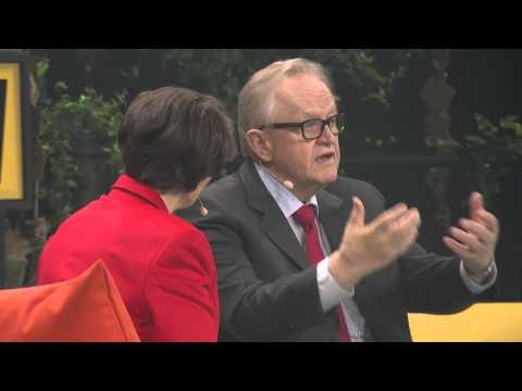 Nobel Peace Prize laureate Martti Ahtisaari | Fireside Chat at Slush 2015