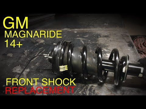 Gm Truck and Suv Front MAGNARIDE Shock Replacement (2014+)