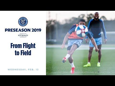 Preseason 2019 | From Flight to Field, Day One in Orlando
