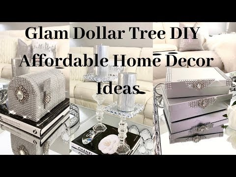 Home Decor DIY Collab Glam Dollar Tree DIYS Affordable Decor Ideas