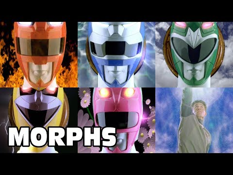 Power Rangers Lost Galaxy - All Ranger Morphs | Episodes 1-45 | It's Morphin Time | Superheroes
