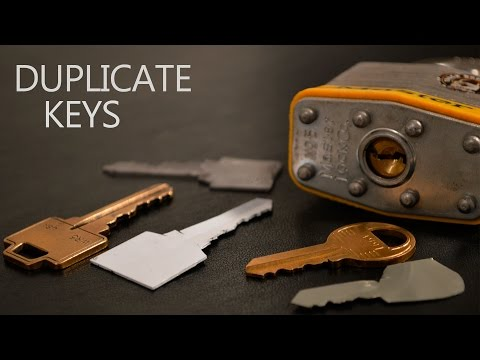 how to make duplicate key at home