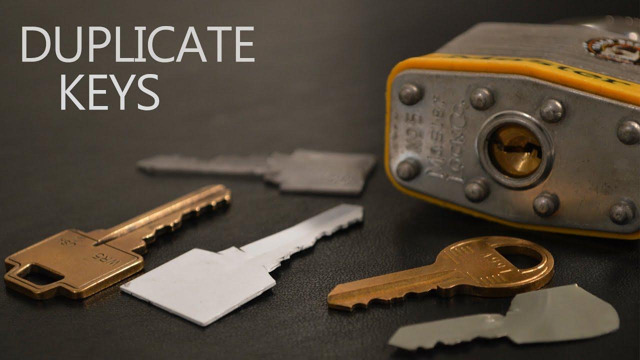 How to Make a Simple Duplicate Key 🔑
