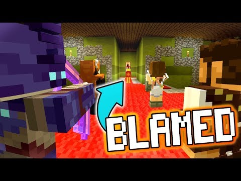 HOW COULD THEY THINK IM THE KILLER ? - Minecraft XBOX Murder Mystery