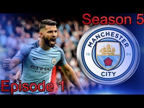 FIFA 17 Manager Career Man City Season 5 Episode 1 New Season
