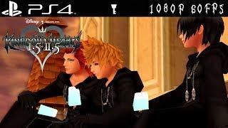 [PS4 1080p 60fps] Kingdom Hearts 358/2 Days Cutscenes (+ Roxas vs Xion DLC Ending)