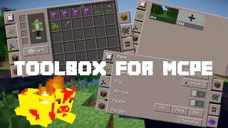 Toolbox For Minecraft: PE [MCPE 0.12.1] Gelişmiş Too Many İtems Modu | Ayrıntılı | Magma Hayvanlar!