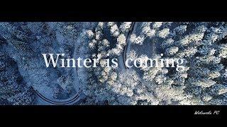 【4K空撮】Winter is coming『雪の雄国山』Fukushima