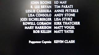 The Adventures of Elmo in Grouch Land ending Credits 2004