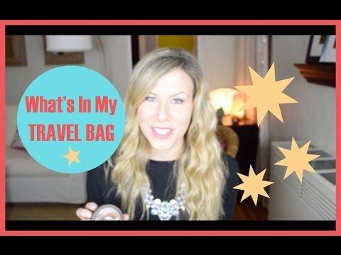 What's In My Travel Bag | Kathryn Tamblyn