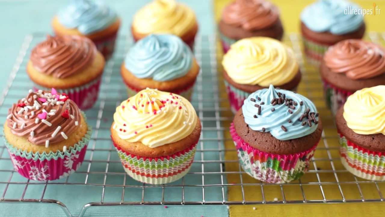 Comment faire des cupcakes parfaits youtube - Recette de cupcake facile ...
