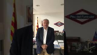 PTP 25 ANYS. Felicitació d'Enric Ticó, president d'FGC