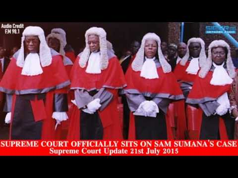 Sierra Leone Supreme Court Officially Sits On Chief Sam Sumana's Case