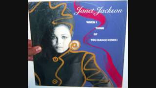 Janet Jackson - When I think of you (1986 Dance remix)
