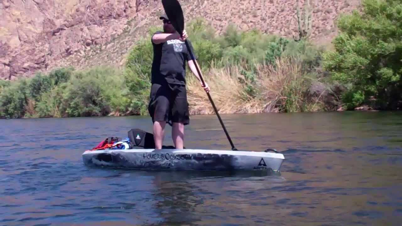 how to get water out of a capsized kayak