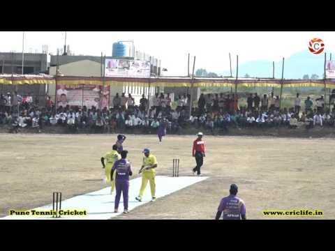 Junnar Premier League 2016 - Sachin Jawle Bowling