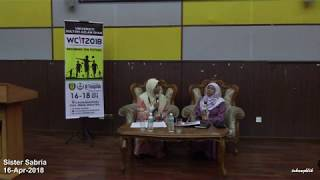 Executive Talk with Sister Sabria at Universiti Sultan Azlan Shah