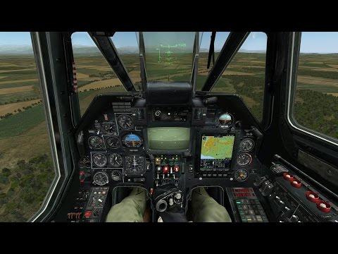 Лучший Симулятор Военного Вертолета России на ПК ! Игра Ка-50 Черная Акула