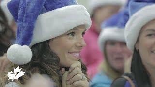 Miracle de Noël WestJet : dons en temps réel