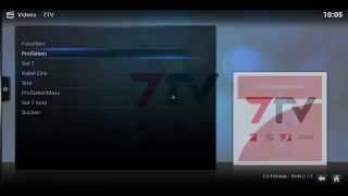 Mediathek der Privatsender 7tv auf Kodi installieren