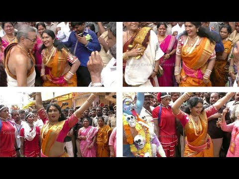 Teenmaar Dance l Jogini Shyamala Teenmaar Dance Steps At Secunderabad Bonalu 2017