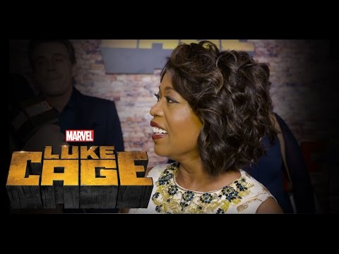 Alfre Woodard and Theo Rossi – Marvel's Luke Cage Premiere