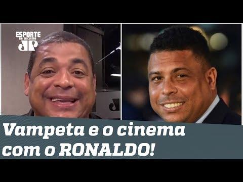 Histórias do Vampeta: a inauguração de um cinema com RONALDO!