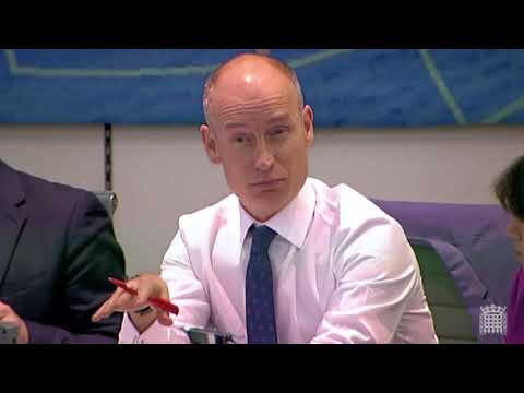 Stephen Kinnock Questions the Brexit Secretary at Exiting the European Union Committee