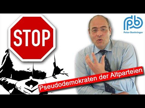 Thüringen: Altparteien verhöhnen die Demokratie – Boehringer spricht Klartext (91)
