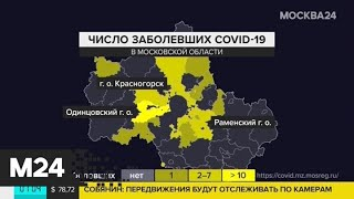 В Подмосковье зафиксировано 112 случаев заражения коронавирусом - Москва 24