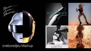 Don T Stop The Punk Daft Punk Vs Rihanna Ariana Grande More Mashup