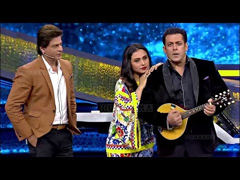 Shahrukh Khan Salman Khan As Karan Arjun On Dus Ka Dum Finale Episode - HUNGAMA
