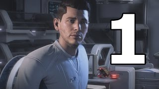 Mass Effect Andromeda Walkthrough Part 1 - No Commentary Playthrough (Xbox One)