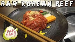 Raw Korean Beef