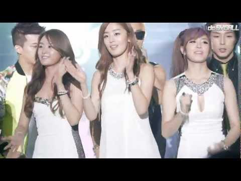 [FANCAM] 120831 // 2012 KPOP Festival in Incheon Ending // All artists - Run To You (SECRET Cut)
