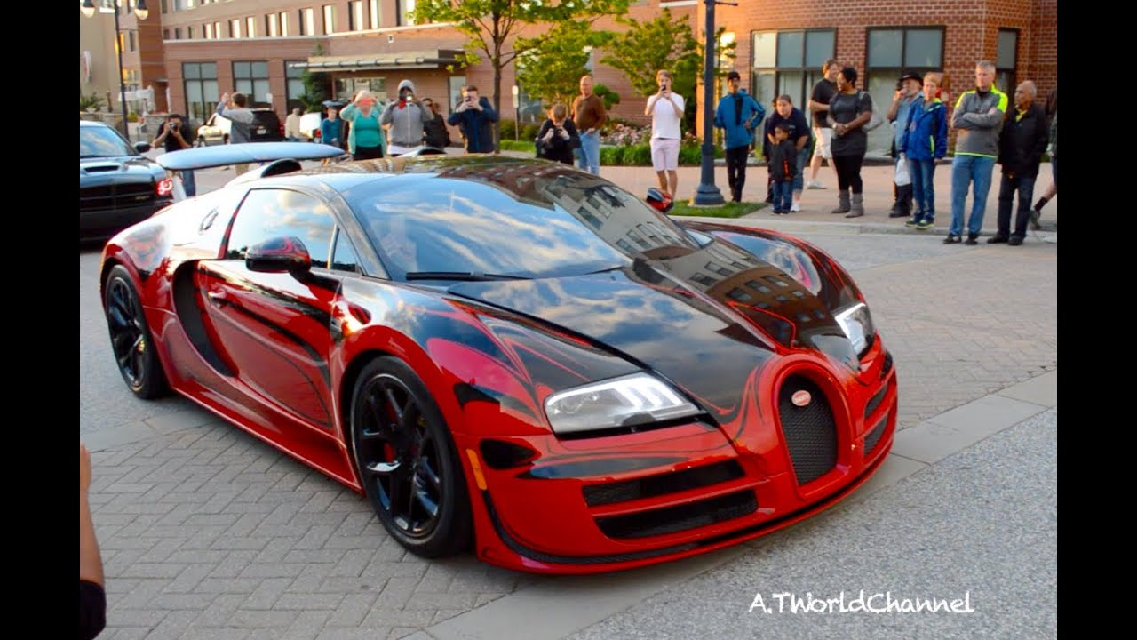 2018 bugatti red. plain bugatti 12 bugatti veyron vitesse lor rouge driving in washington dc sound to 2018 bugatti red