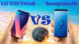 LG V35 ThinQ vs Samsung Galaxy S9 📱FULL COMPARE📱