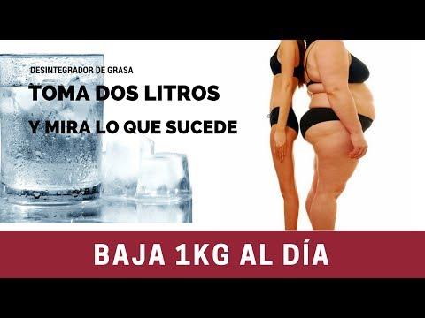Bajar de peso con agua - Baja 5 kilos sin dieta en una semana