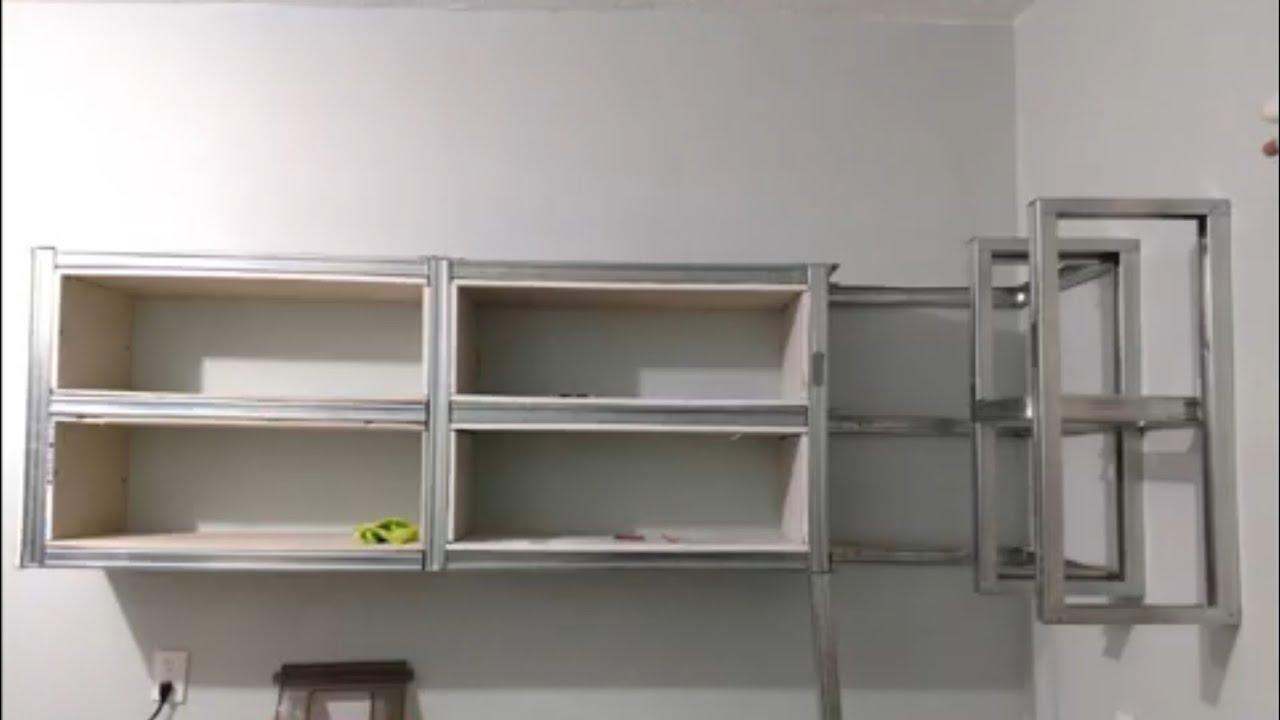 Diy Kitchen Cabinets Cocina Moderna En Tablaroca Paso A Paso Youtube