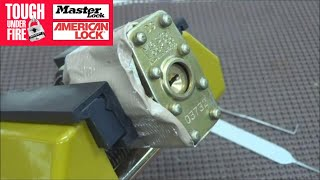 (167) Master Lock Screws Up AGAIN!!!  WHAT are you guys THINKING???!!!
