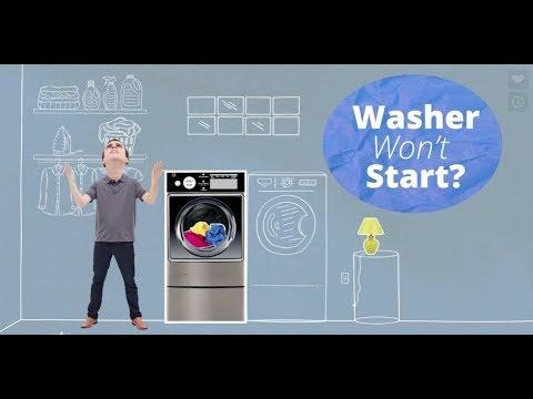 How to Fix a Washing Machine That Won't Start