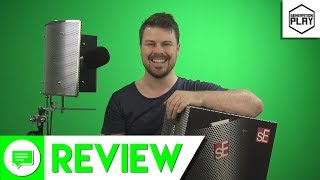 SE Reflexion Pro vocal booth and shield review & comparison test