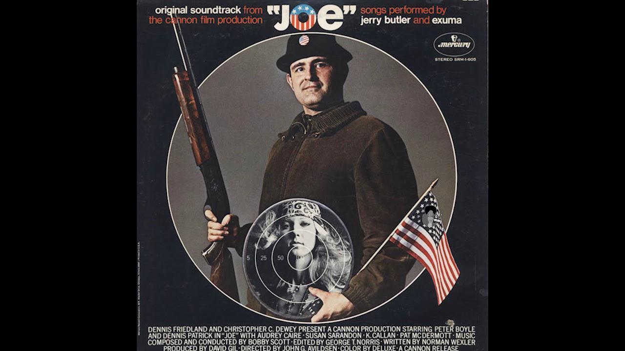 Download Joe - Original Soundtrack (1970) | Jerry Butler Bobby Scott Exuma OOP